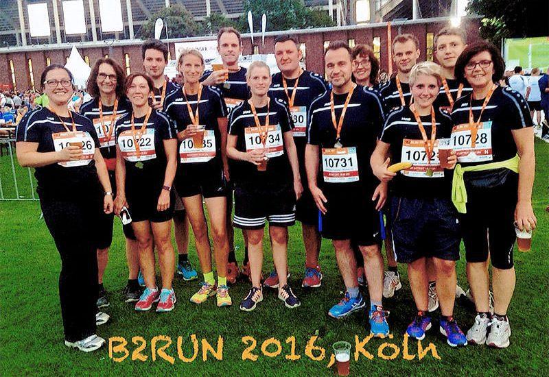Die HTR beim B2Run-Firmenlauf 2016 in Köln